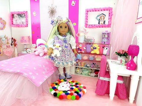 KAWAII ROOM SET UP FOR AMERICAN GIRL DOLL