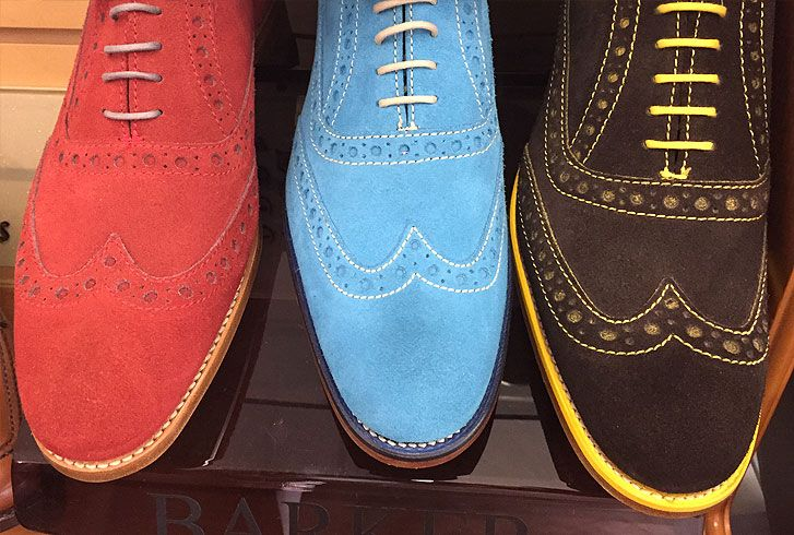 A visit to the Barker shoe factory outlet shop Northampton  Northampton