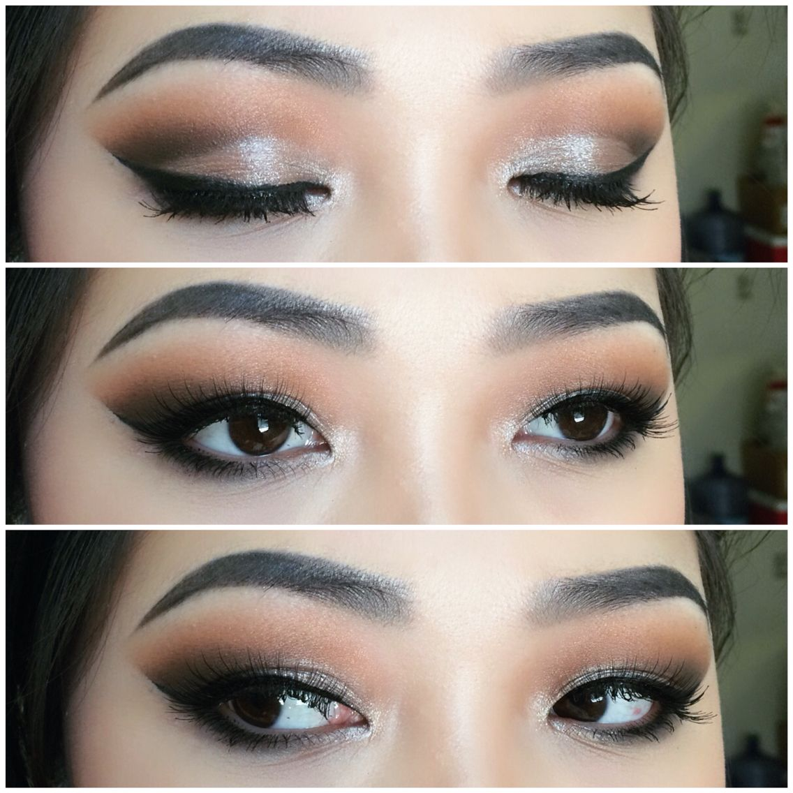 Makeup For Asian Eyes Extending Your Liner Along With Your Eyeshadow Will Elongate Your Eyes Asian Eye Makeup Eye Makeup Tutorial Asian Eyes