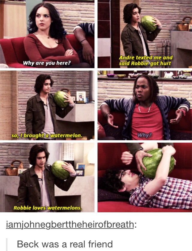 I Need A Friends Who S Like Beck Laugh Victorious Tumblr Funny