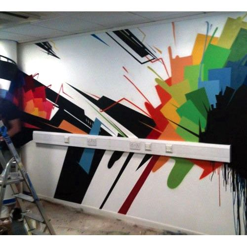 1000 images about office wall on pinterest murals graffiti and offices artist office