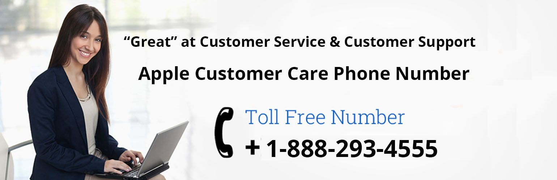 Apple CustomerCare Phone Number USA 18882934555