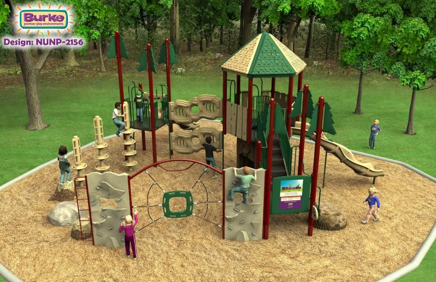 Create A Natureplay Playground From Burke That Gives You The Freedom To Create Your Very Own Adventure Park For The Kids Playground Adventure Park Burke