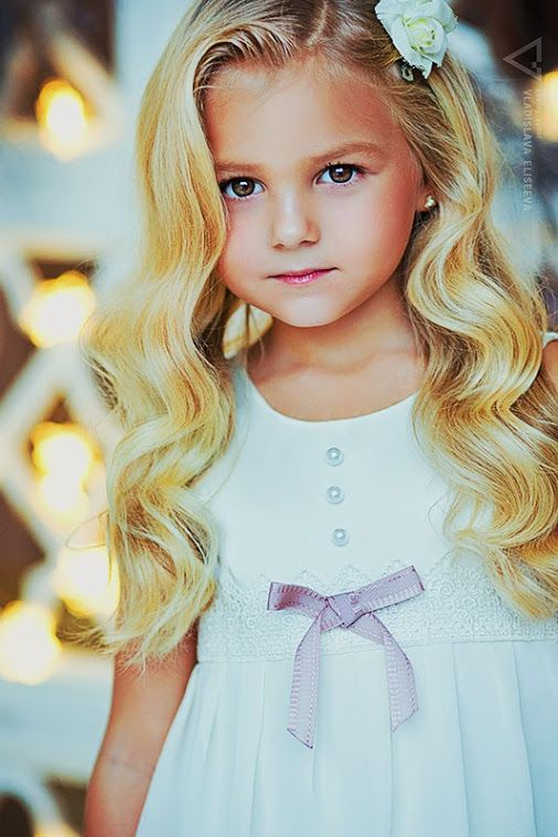 ゚゚ Beautiful Blonde Girl Little Girl Hairstyles