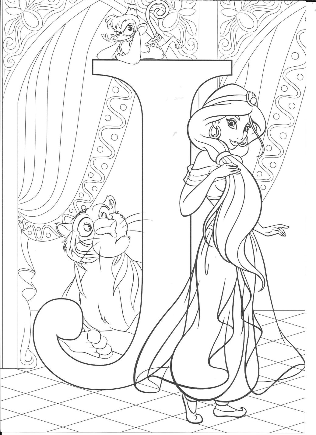 Big Disney Princess Coloring Pages Tips