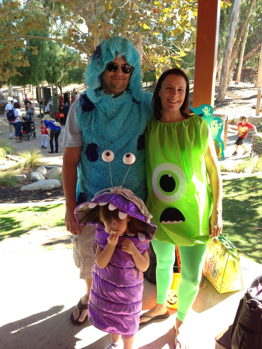our monsters inc costumes … | family costumes in 2018…