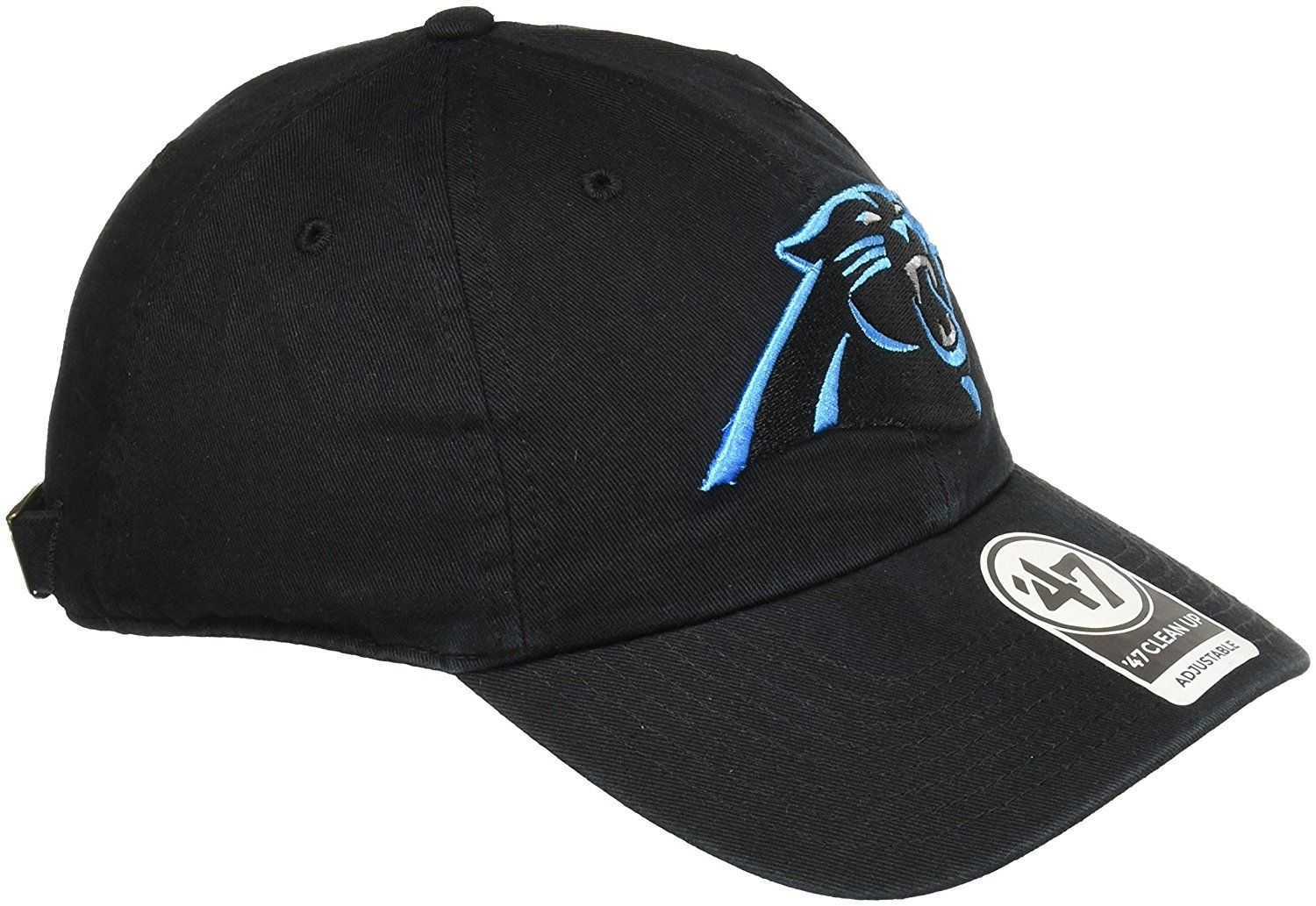 Amazon.com   NFL Carolina Panthers  47 Clean Up Adjustable Hat ... 7f5feb318df