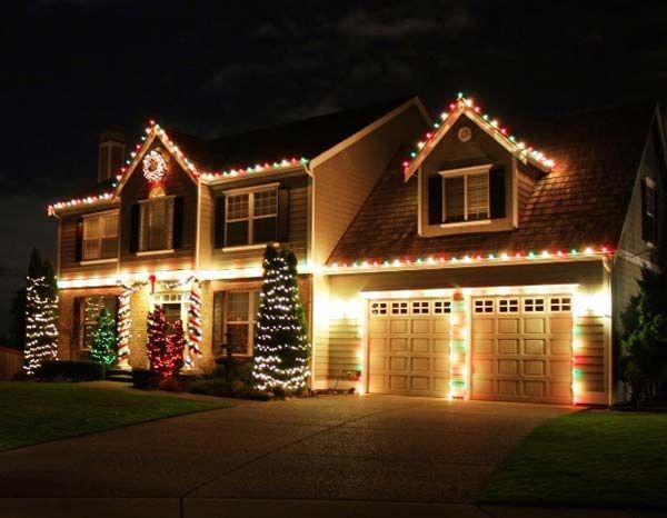 Top 46 Outdoor Christmas Lighting Ideas