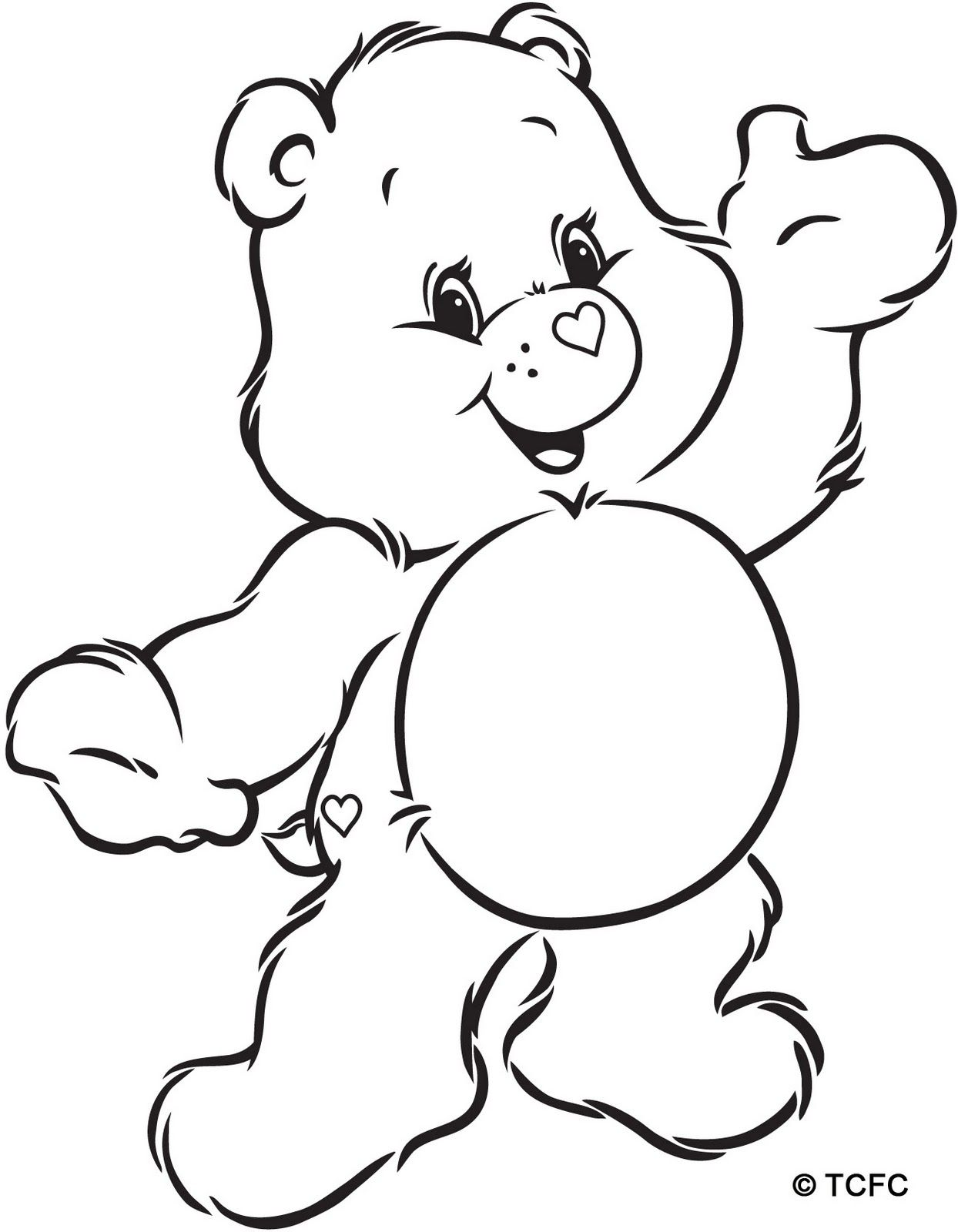 Design Your Own Care Bear (With images) Bear coloring