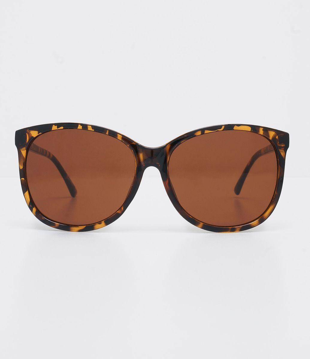 53df29ddb3c62 Óculos de sol Modelo redondo Hastes em acetato Lentes degradê Proteção  contra raios UVA   UVB