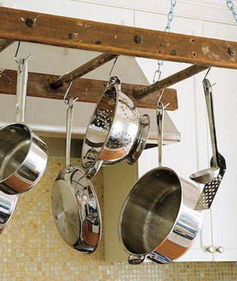 75 MARVELOUS HANGING RACK KITCHEN DECOR IDEAS Kitchen Kitchen