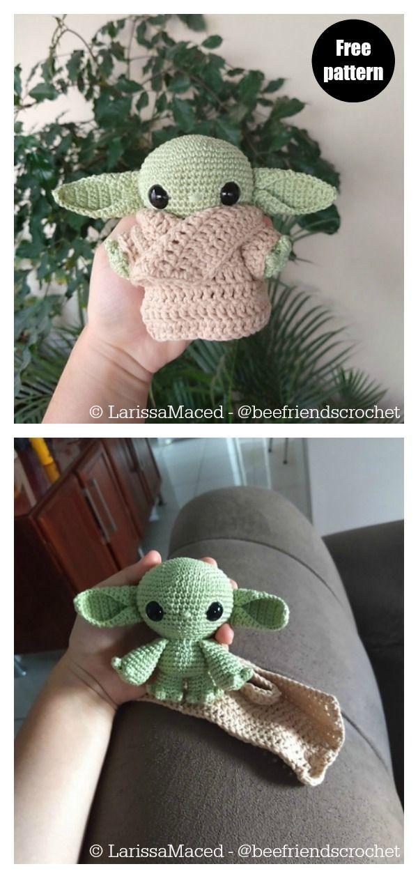 Star Wars Yoda Crochet Patterns #toydoll