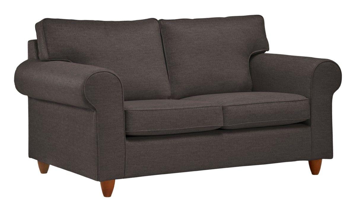 KARO 2H sohva (Pähkinä galant musta)