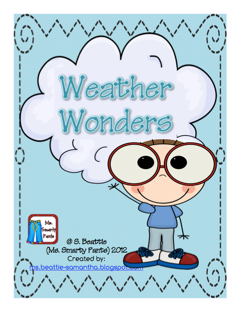 His Pack Includes Weather Kid Craftivity Weather Recording Graph