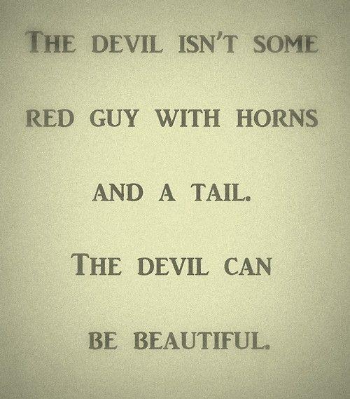 Image result for devil angel of light quote