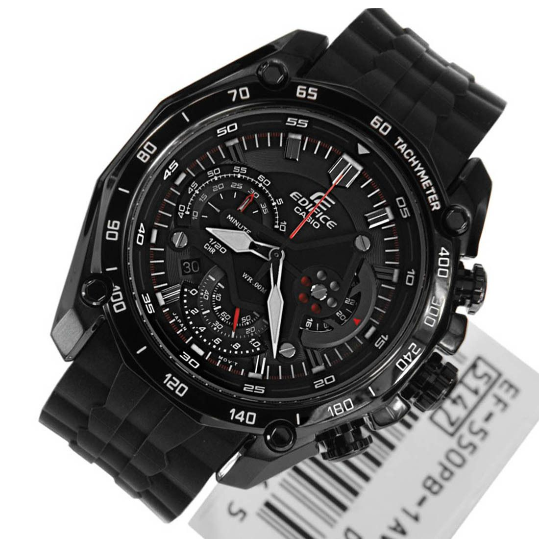 Casio Edifice Tachymeter Sports Mens EF550PB1AV Watch