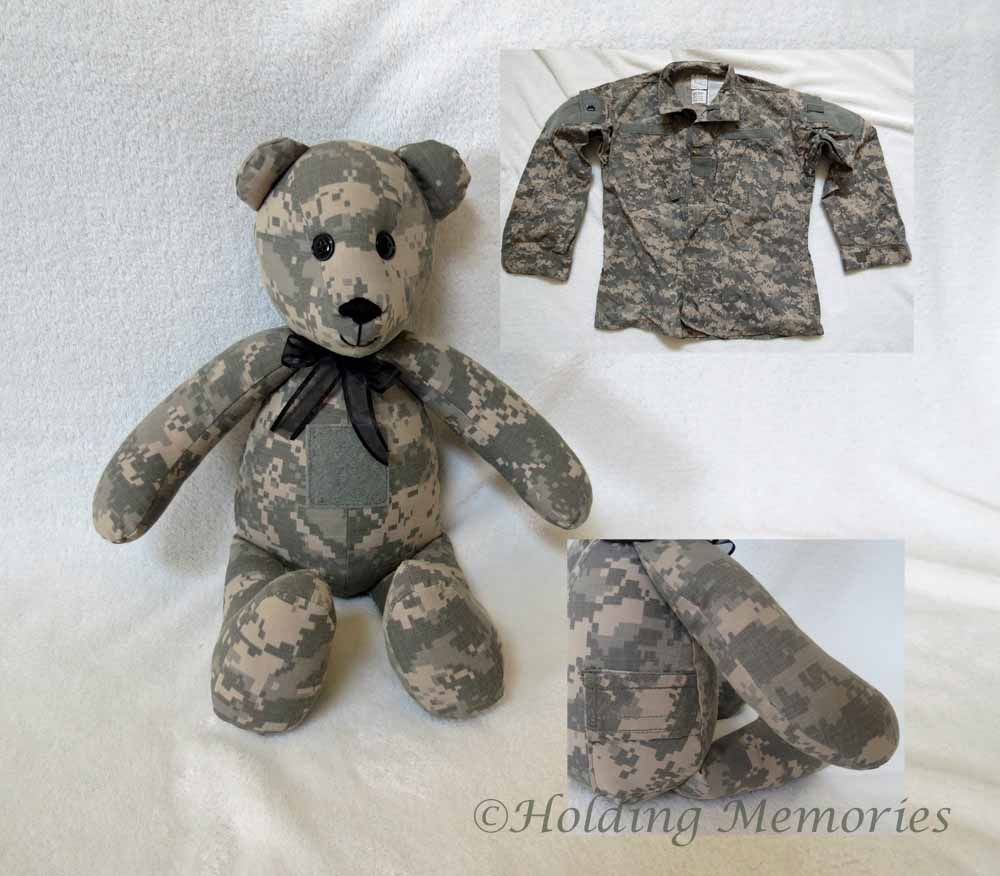 Memory Bears Made From Loved One S Clothing