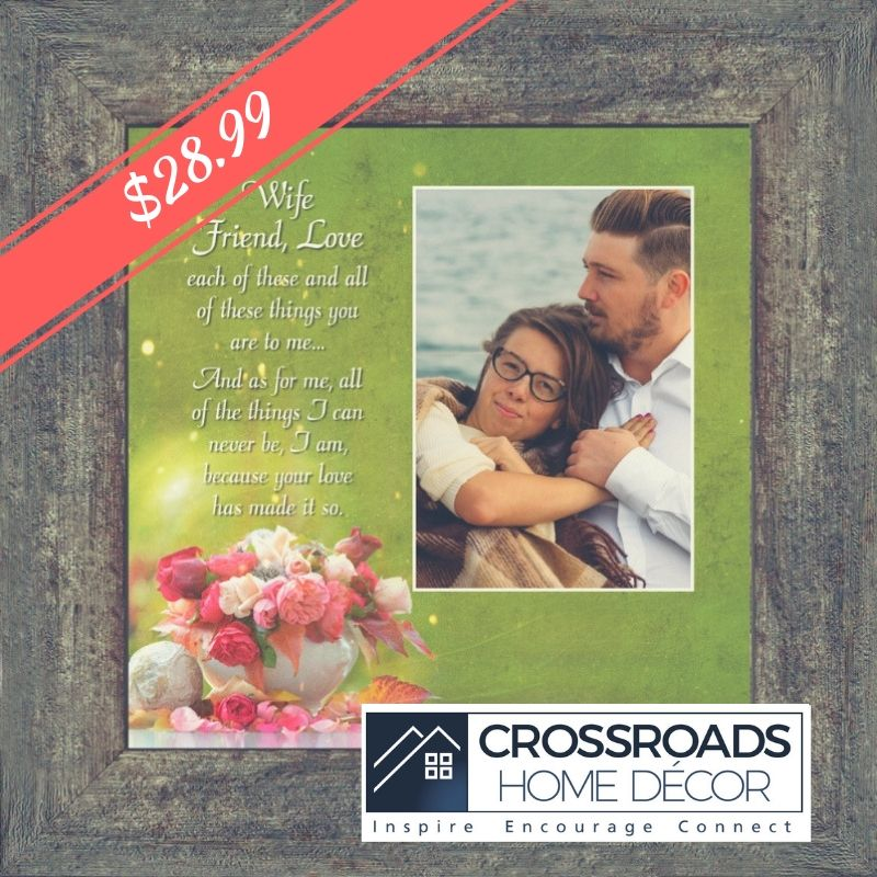 Wife Friend Love Romantic Gift For Wife Picture Frame