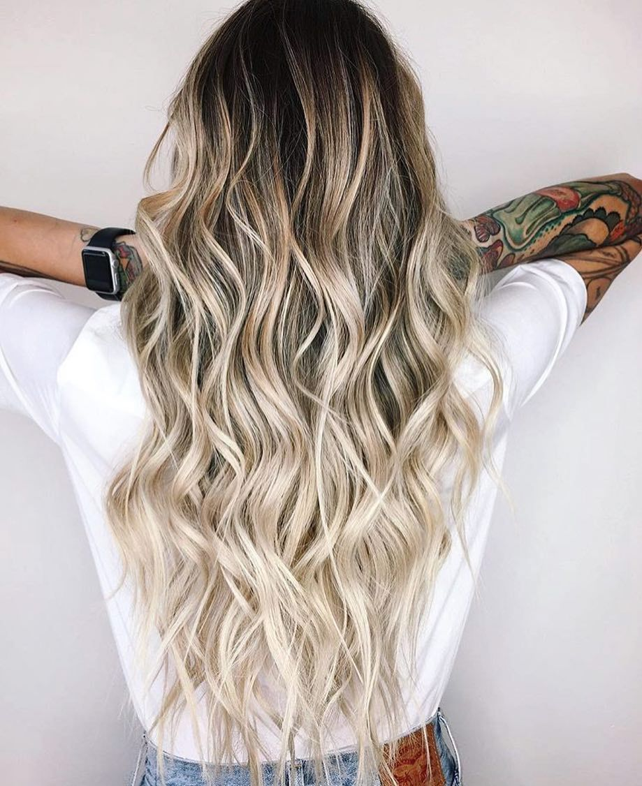 12 Hottest Fall Winter Hair Color Ideas For Women 2020 In 2020 Long Thin Hair Ombre Hair Blonde Balayage Hair