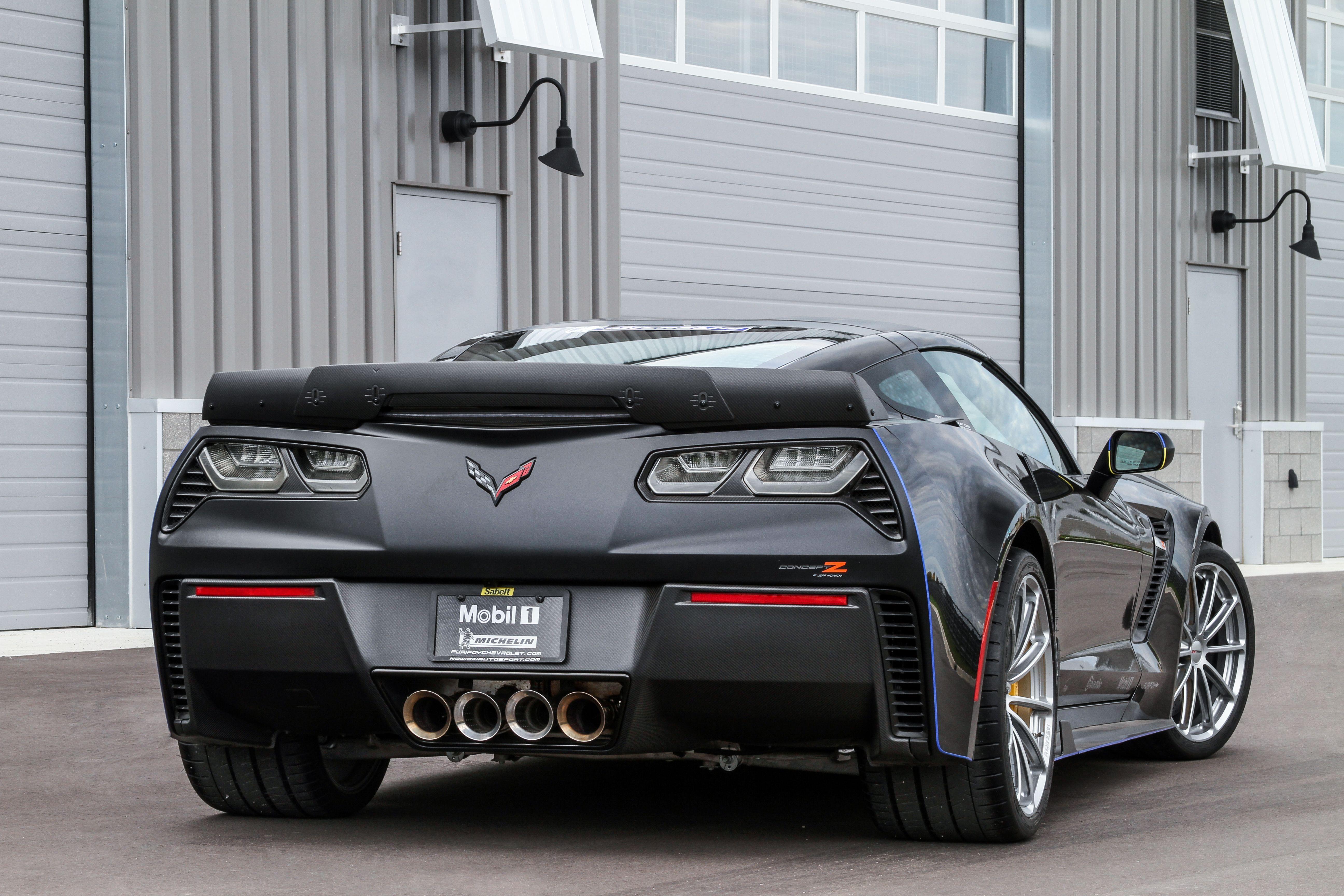 Did you see the Nowicki Autosport Michelin ConceptZ C7 Corvette Z06 ...