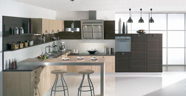 Pyram fabricant de cuisines et salles de bain cuisine Pinterest - agencement de cuisine ouverte