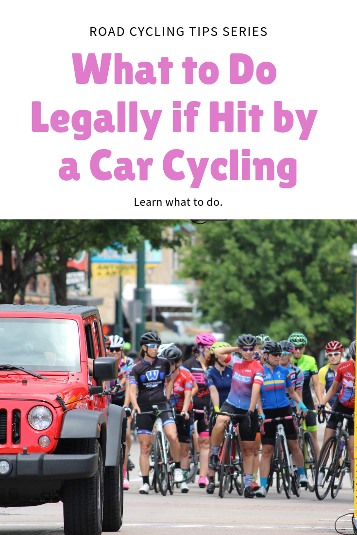 What Should A Cyclist Do Legally If Hit By A Car With Images