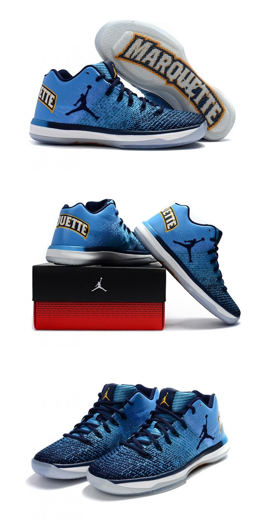 "Air Jordan Xxxi Low ""marquette"" For Sneakers fashion"