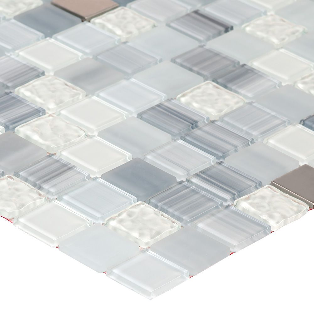 Mineral Tiles - DIY Tile Backsplash Kit 15Ft Blue Moon, $189.00 (http:/