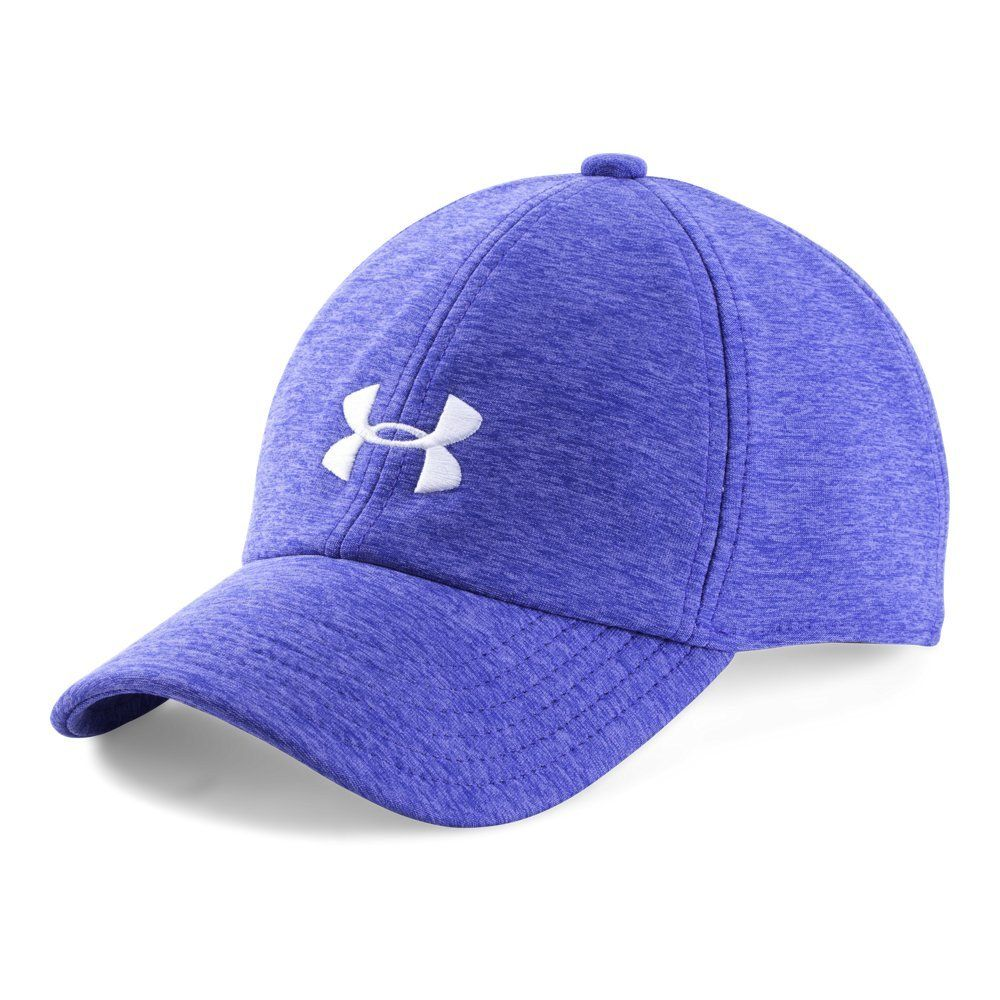 3929fb24 Under Armor Girls' Twisted Cap, Constellation Purple/White, One Size ...