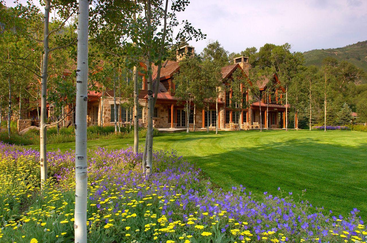 Streamside Estate Design Garden design