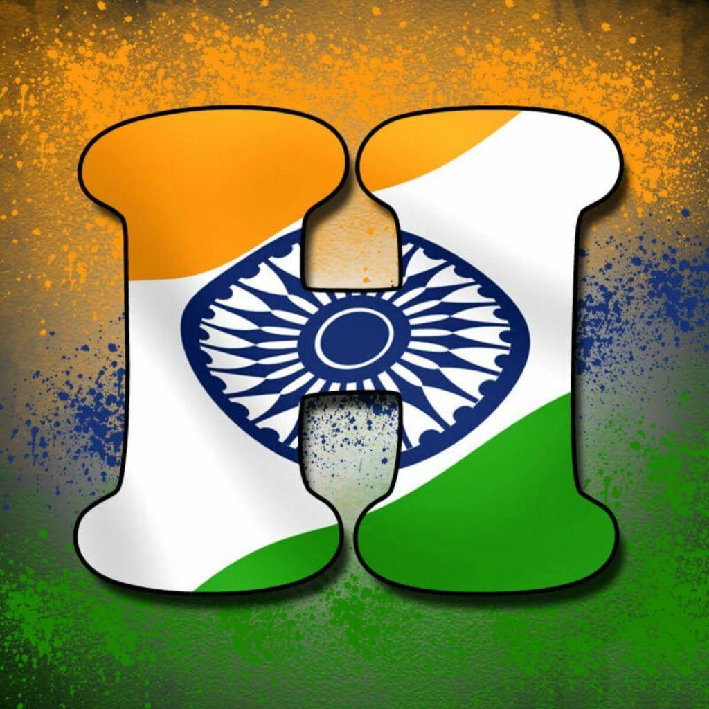 Alphabet Tiranga Image Indian flag images, Flag photo