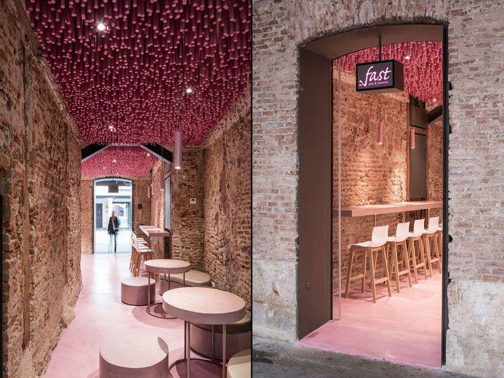 Patisserie by ideo arquitectura alcal de henares spain retail design blog interior Arquitectura alcala de henares