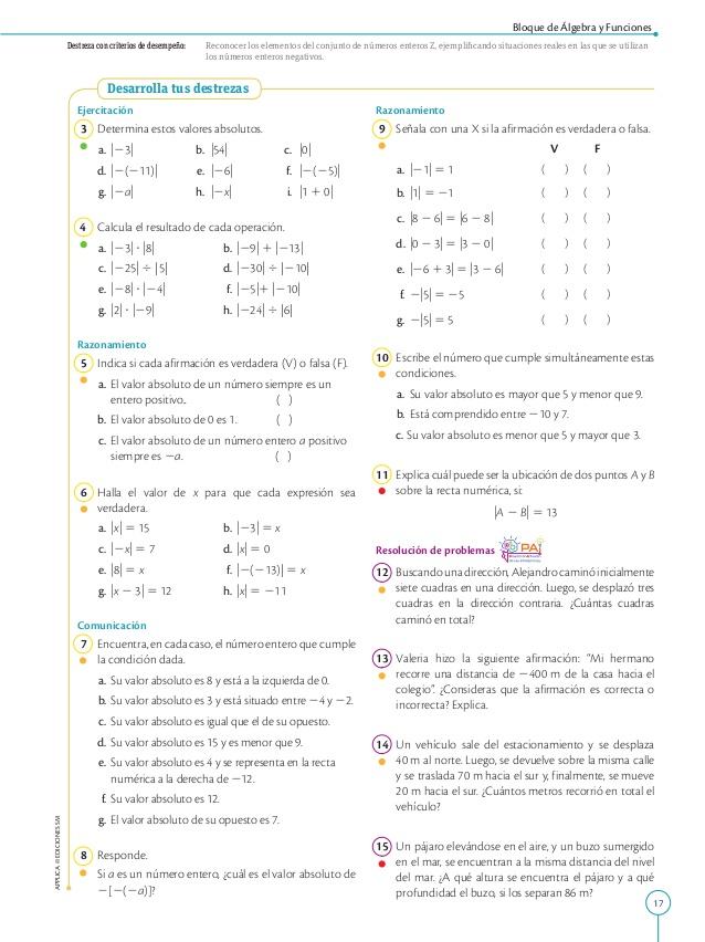 Matemática 8 Año Egb Actividades De Matematicas Matematicas Juegos De Matemáticas