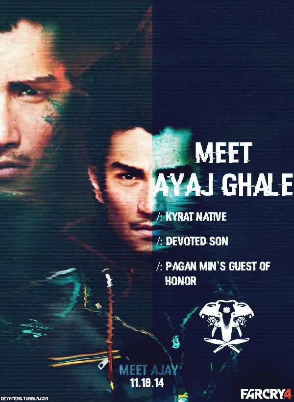 Ajay Ghale Far Cry 4 Farcry4 Sendadorada Ajayghale