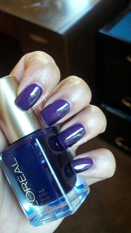 Purple loreal jelly polish