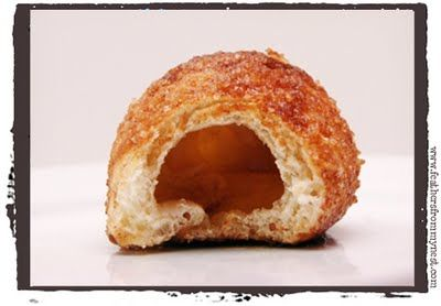 resurrection rolls - with cinamon & sugar