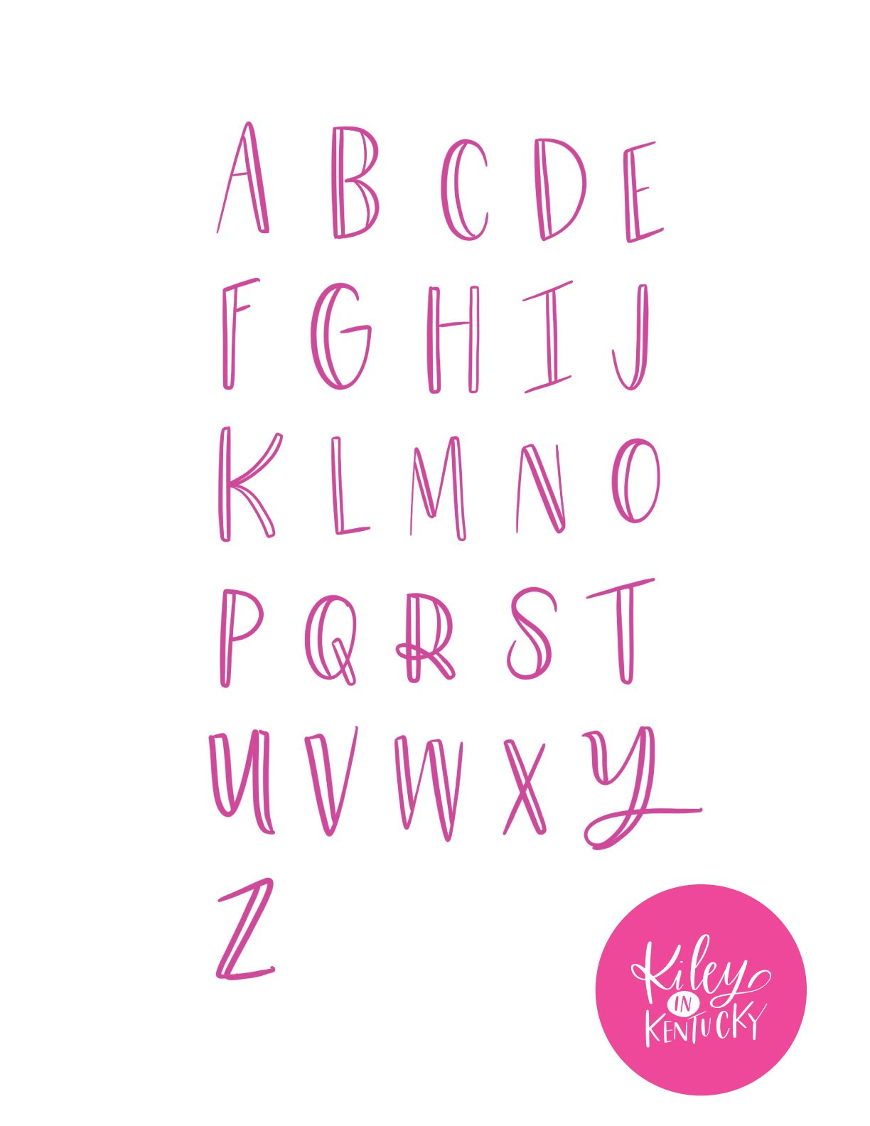 My Top 3 Hand Lettering Tips For Beginners KILEY IN KENTUCKY