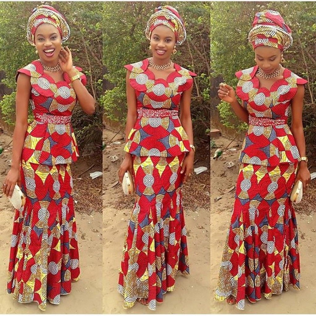 Ankara Styles Archives Wedding Digest Naijawedding Digest Naija African Print Pinterest