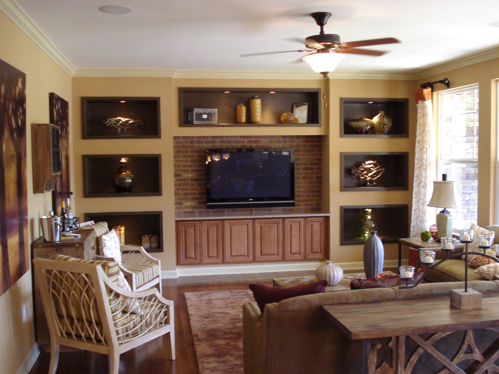 Family Room Media Wall Do You Really Need A Fireplace