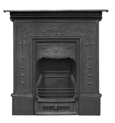 Carron Bella Cast Iron Combination Fireplace Cast Iron Fireplace