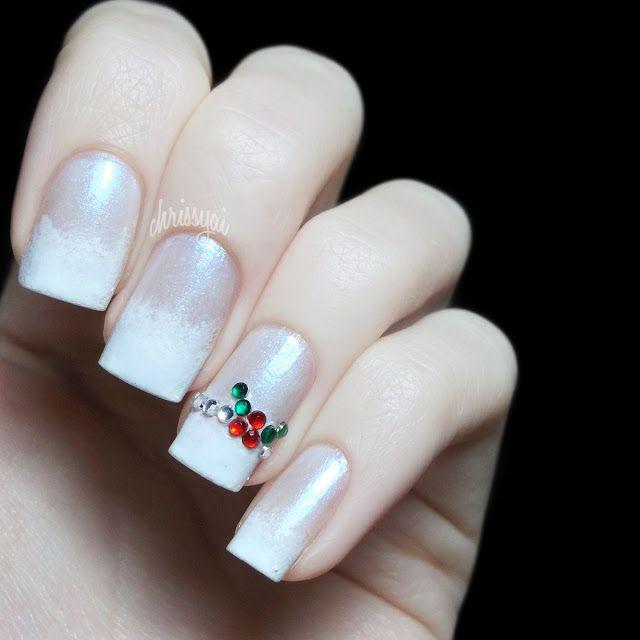 Mistletoe Nail Art Meidenkamer Charlotte Pinterest