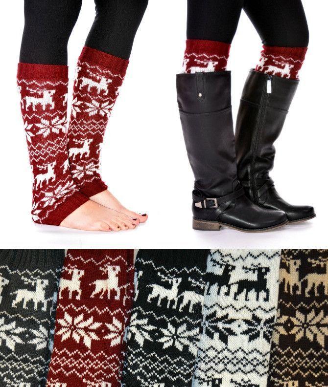 2e1d12c7e Cute leg warmers | W O A H — F A S H I O N. | Medias de invierno ...