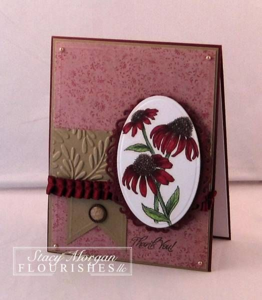 FTTC181 Thank You  Stamps: With Gratitude  Paper: dp lss, classic white, red velvet, kraft  Ink: copic collections  Accessories: bg brad, pleated ribbon, spellbinders, dimensionals