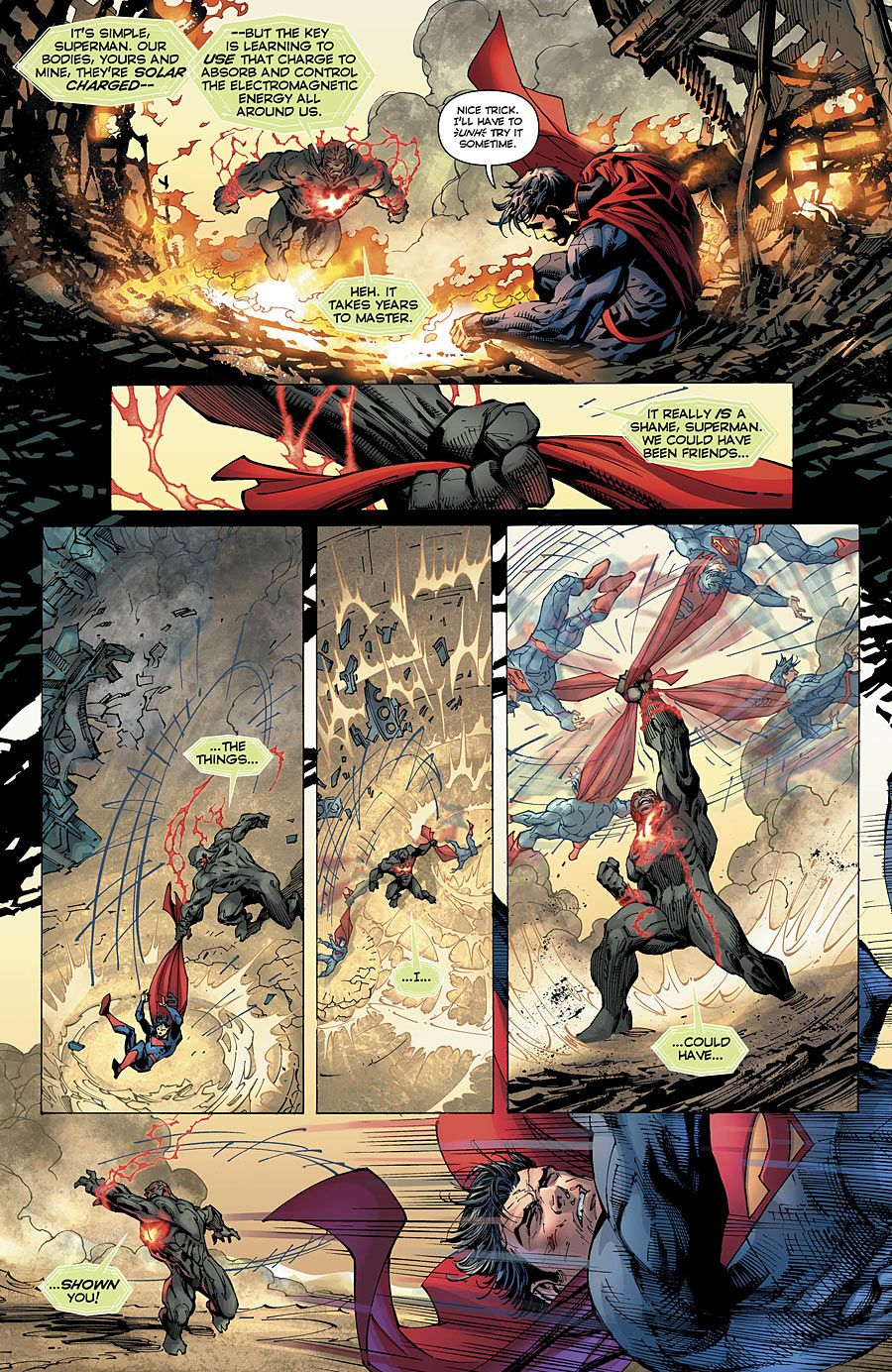 Preview: Superman Unchained #8, Page 7 of 9 - Comic Book Resources ...