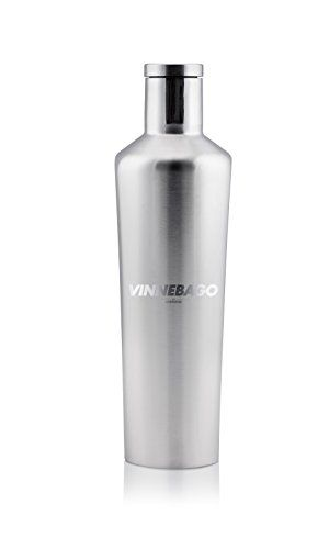 3b2eb15f707 Corkcicle Vinnebago Insulated Stainless Steel Bottle/Thermos, 750Ml,  Silver, 2015 Amazon Top Rated Cocktail Shakers #Kitchen