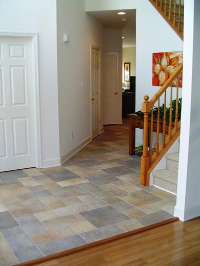 Living room ceramic tile flooring remodeling pictures and - Flooring ideas for living room and kitchen ...
