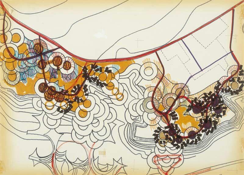 Jean Renaudie Vitrolles Esquisse Architekturzeichnung Architektur Zeichnungen Architektur