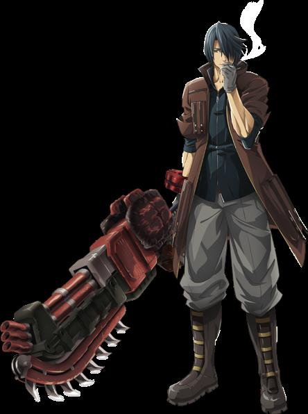 Lindow Amamiya From God Eater God Art Great Sword Anime Guys