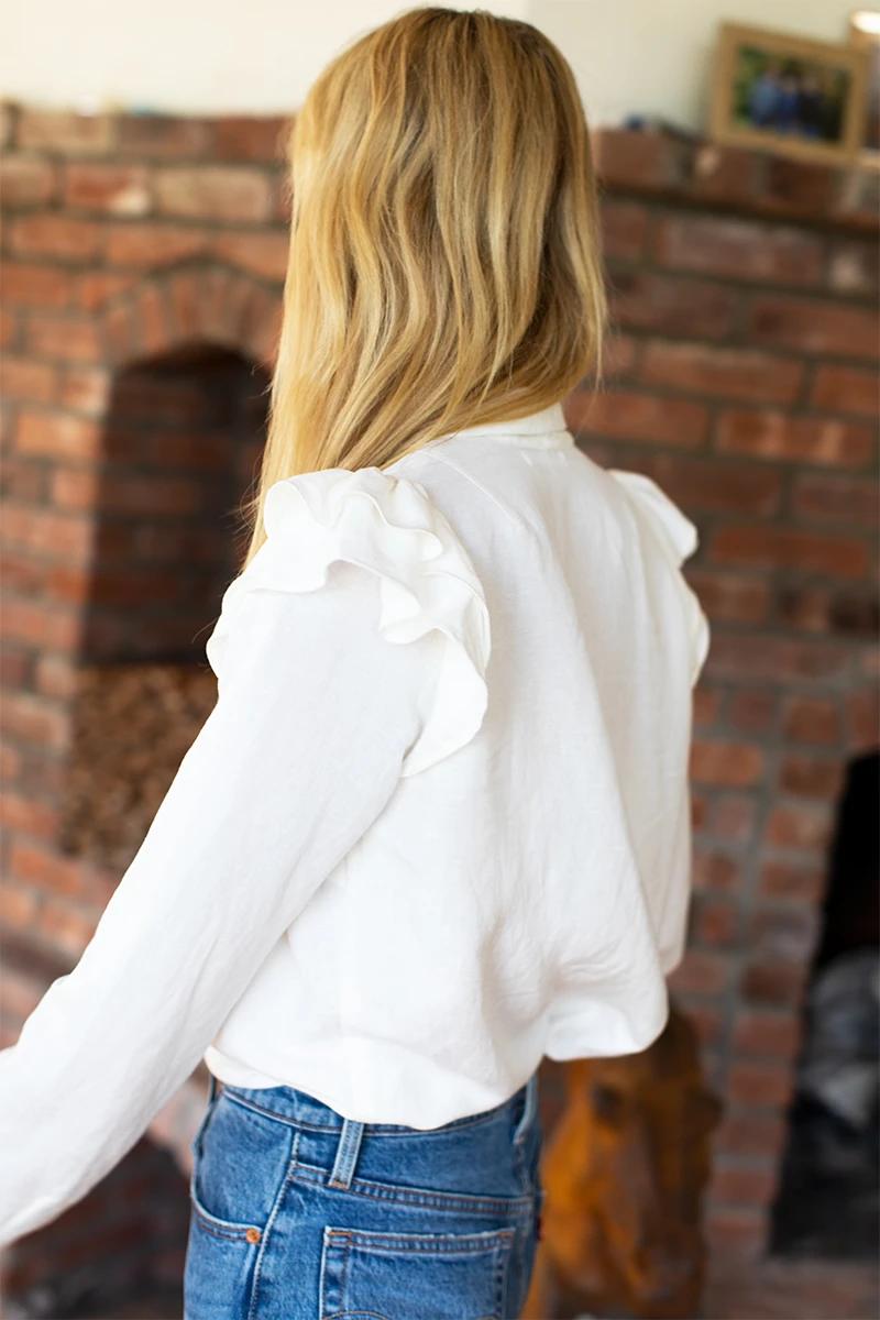 Sanibel Shirt - White