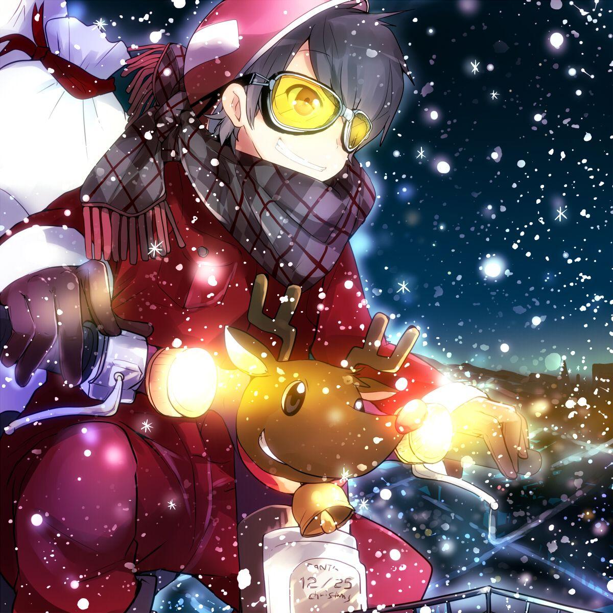 12 Christmas Anime Wallpaper Boy Sachi Wallpaper